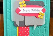 bubble words stampin up