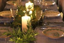 herb winter wedding / Inspiration for a lush herb winter wedding