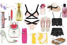 Summer Inspiration <3 / summer looks - flowers - beach - shopping inspiration