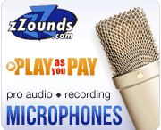 affordable recording studio equipment & instruments | guitars bass microphones