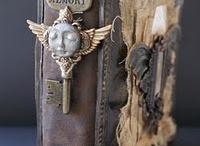 Steampunk Altered Art / by Desert Gal Treasures