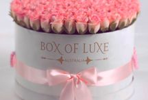 Box of Luxe Australia / Luxury flowers in a box; flower delivery and gift shop; flowers in a special form , preserved flowers