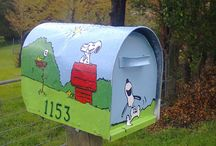 The Snoopy LetterBox !!
