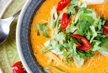 Nudelsuppe Thai-Curry