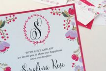 Wink Mitzvah / The Wink Mitzvah Album is a collection of modern and bold layered invitations with double sided printing.