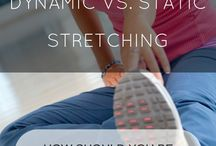 Dynamic vs. Static Stretching / What's the difference?