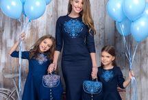 Family Look / Стильний одяг для мами і дочки.