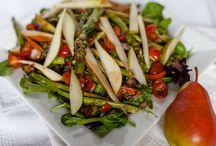 Salads on Salads on Salads, / Just a bunch of salads