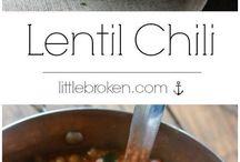 Lentil con chili