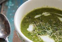 Soep / Soep kan altijd! eindeloos variëren, gezond, lekker en makkelijk. Laat je inspireren door ons soep board ;)