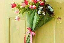 Tavasz, húsvét, dekoráció