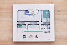 Baby Boy Edition Project Life / Layouts and ideas using the Baby Boy Edition Project Life Core Kit by Becky Higgins / by Becky Higgins LLC