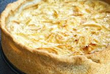 RESTAURANT - carte quiche et tarte