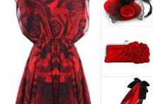 Lets Go Red ❤ / Womens Fashion (Red)