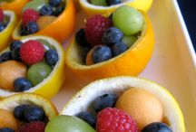 Fruit & veggie table