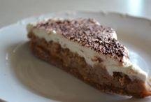 Gaštanové torty a koláčiky