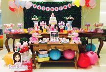 Festa Peppa Pig / Festas Criativas e Personalizadas você encontra aqui. Procurando fofuras para a sua festa? Na nossa loja tem! http://loja.danifestas.com.br/