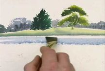 Watercolour Tutorials Trees