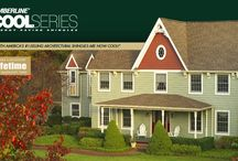 GAF Timberline Cool Series / Energy saving architectural shingles