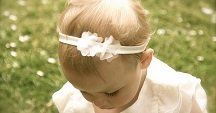 Christening baby girls / Outfits and hair accessories for little eons to be christened in.