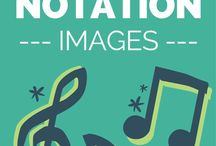 Music notation images