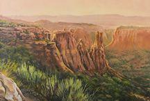 Western Landscape Paintings by Artist Nancee Jean Busse / Western Landscape Paintings by Artist Nancee Jean Busse