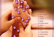 massagens  nos pés