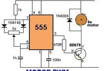 regulator turație motor cu 555