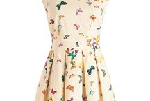 Dresses and skirts / These are the dresses and skirts I like.
