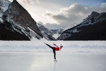 Iceskating lake