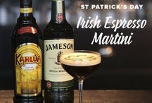 St Patrick's Day / Celebrate St Patrick's Day with an Irish twist to our classic cocktails!