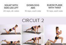 No Equipment-Body Weight Workout