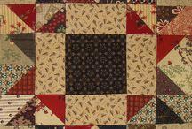 Quilts-scrap basket blocks / Scrap Basket Blocks