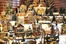 Christmas Village miniatures