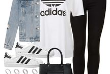 Outfits casuales - tenis