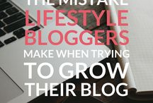 Business - Growing your blog / biz / Tips on growing your blog and mailing list.