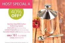 May Steeped Tea Specials / Party perks for Hosts and Guests! / by Steeped Tea Inc
