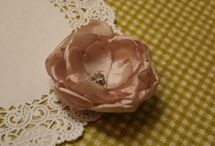 Fabric Flowers / by Tamara Ellenbecker