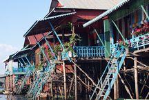 CAMBODGE / Envie de vous en évader au Cambodge ? Voici ma sélection d'épingles sur les paysages, destinations au Cambodge