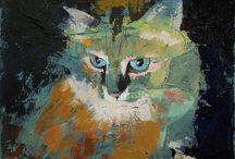 Art | Cat Fancy / Wall art featuring felines by Imagekind artists.