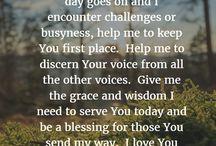 prayers. & quotes