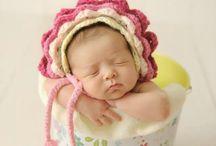 baby photo crochet