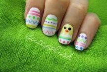 Nail-art Easter