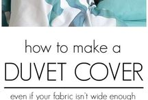 Sew Bedding, Pillows and Curtains