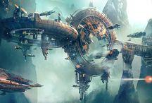 Sci-fi Environment Concept Design