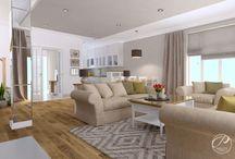 Dom w stylu klasycznym / Zaprojektowane w stylu klasycznym wnętrza domu jednorodzinnego. Funkcjonalność rozwiązań współgra z utrzymanymi w stylu klasycznym elementami wyposażenia.