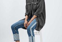 aranżacja jeans odziez