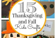 Thanksgiving crafts + eats!