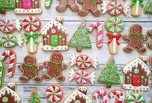 Biscoitos Decorados de Natal