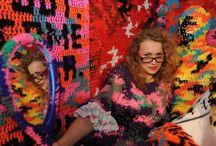 crochet in arts